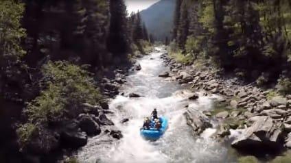 gallatin river big sky montana bozeman whitewater rafting