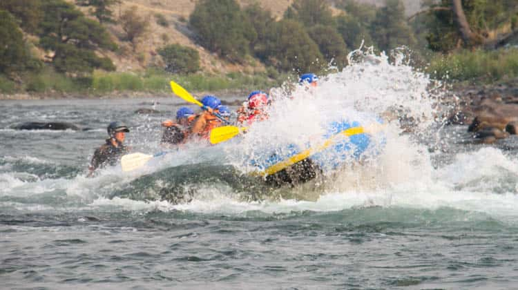Whitewater Rafting Yellowstone - Small Boat Half Day Trip