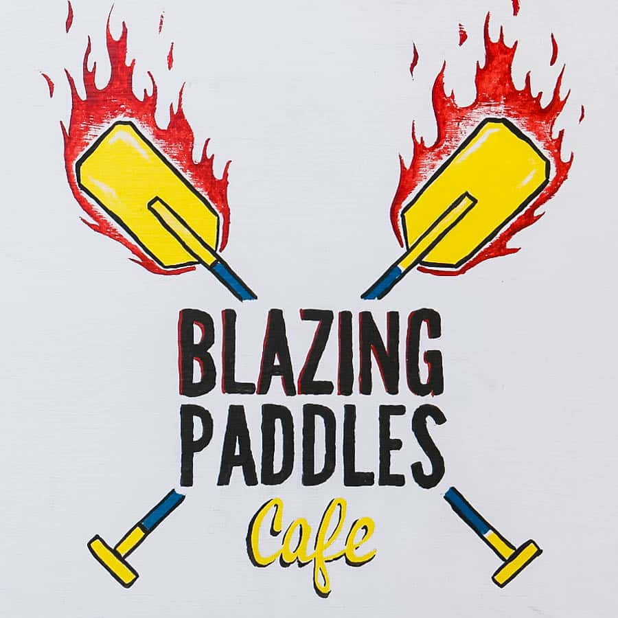blazing-paddles-cafe-sign