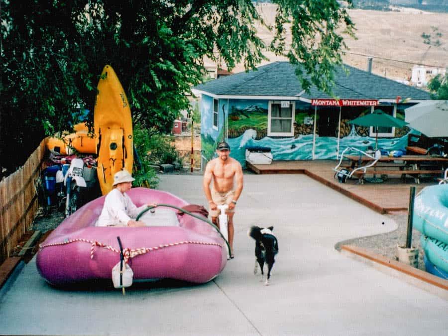 vintage-purple-raft