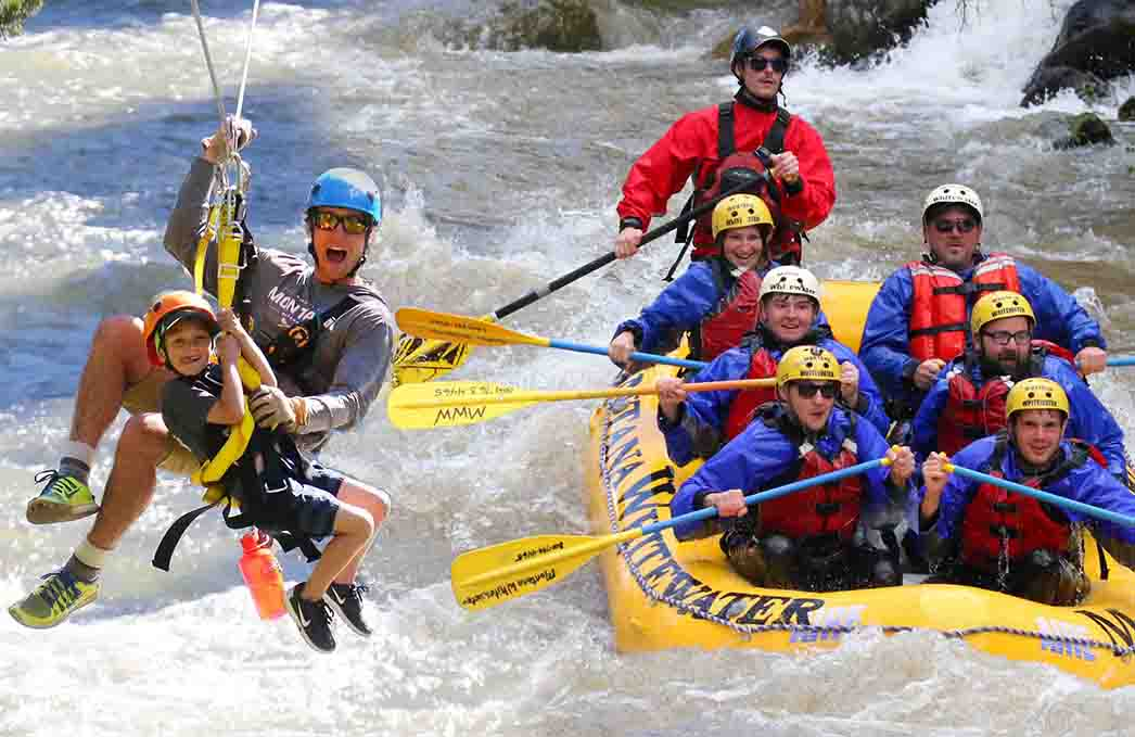 Image result for montana whitewater rafting""