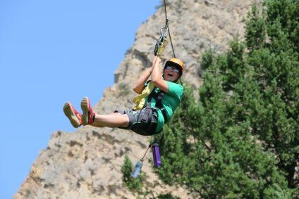 Ziplining Yellowstone & Big Sky
