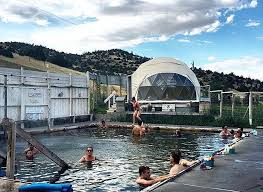 norris hot springs pool and dome