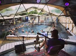 norris hot springs music