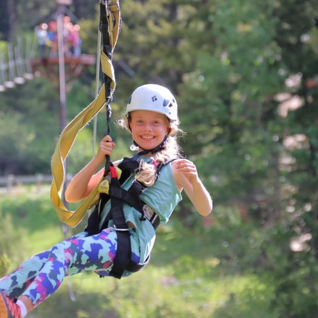 Time flies when you're having FUN!😄 Our guided zipline tours will take you over the river and through the woods…to #bigsky country we GO!⛰💦 We are still running zip tours until mid September - book today! #zipline #ziplineadventure #ziplinetour #bigskymontana #visitbigsky #bozeman #gallatinriver #gallatincanyon #montanawhitewater #yellowstonezip #mtwhitewater #mtww